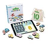 Marbotic - Sesame Street Numbers pour iPad - De 3 à 5 Ans - Set de Nombres Interactifs en Bois - Jeux Éducatifs Manuels pour