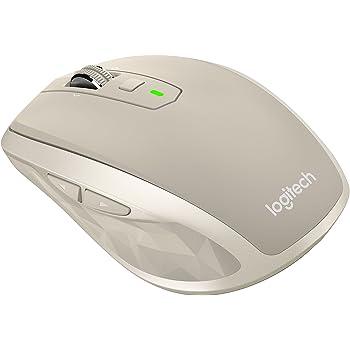 Logitech MX Anywhere 2 souris sans fil pour Windows/Mac (Bluetooth, Unifying) Stone