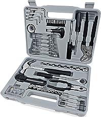 Deuba® Werkzeugset 141 tlg Werkzeugkoffer Werkzeugkiste Werkzeug Set Werkzeug Werkzeugkasten Werkzeugsatz Knarre