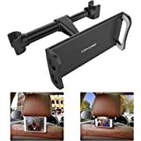 Tryone Car Headrest Holder, Tablet Headrest Mount Compatible with Smartphones/Tablets/Switch 4.7'-10.5', Headrest Posts…