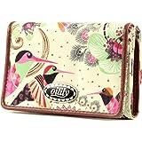 Oilily Summer Birds Flap Wallet OCB9119, Damen Portemonnaie, 12.5x2.5x9
