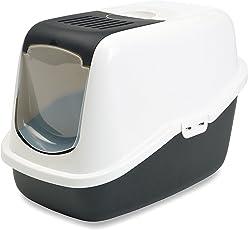 Savic Nestor Cat Toilet, Black