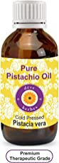 Deve Herbes Pure Pistachio Oil 50ml (Pistacia vera) 100% Natural Therapeutic Grade
