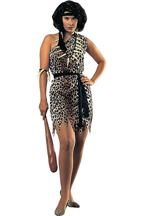 LUCIDA Disfraz Troglodita Cavernicola Mujer: Amazon.es: Ropa y ...