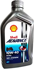 Olio motore moto Shell Advance Ultra 10W40 4T API SM/JASO MA2-1 Litro