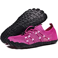 DARE Women's Barefoot Shoes - Big Toe Box - Minimalist Cross Training Shoes for Women (Play Purple)