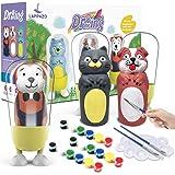 Pintura kit Colorear para Niños Figuras de Yeso de Animales DIY Manualidad Creativo Educativo Juguetes para niños Dibujo Graf