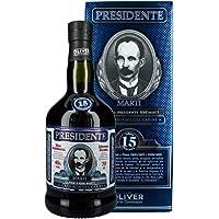 Presidente 15 anni rum, 700 ml