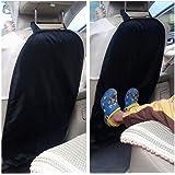 Jooheli Protection Arri/ère de Si/ège Auto Imperm/éable Kick Mats avec support de Ipad et 6 poches de rangement Protection Siege de Voiture pour voyage en famille 2pcs Organisateur de Voiture