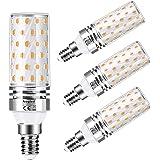 E14 Led Lamp 12 W Aogled,Gelijk Aan 100 W Halogeenlamp, Warm Wit 3000k,1200lm Maïslamp,Edison-schroefkandelaar,Niet Dimbaar,G
