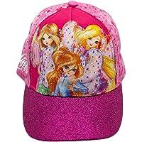 Winx Cappello da Sole con Visiera Glitterata