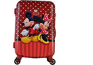 Gamme Disney Polycarbonate Mickey Luggage for Kids(Red)