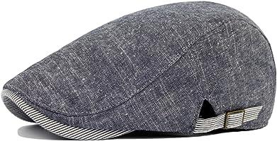 Leisial Sombreros Gorras Boinas Gorra de Béisbol Ocio Retro Clásico del Algodón Gorra de Deport Hat Flat Cap Primavera...