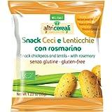Probios Snack Ceci e Lenticchie, con Rosmarino - 35 gr, Senza glutine