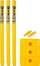 Dixon Wicket Set Plastic, Large (Yellow)