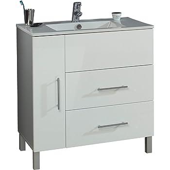Aquariss Badmöbel Badezimmermöbel Waschbecken Unterschrank ...