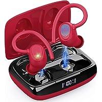 Bluetooth 5.1 Kopfhörer Sport, Kopfhörer Kabellos In Ear Kabellose Sportkopfhörer IP7 Wasserdicht Wireless Earbuds mit…
