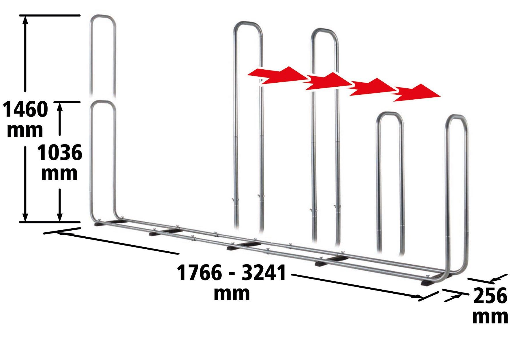 Wolfcraft 5125000 – Soporte modular para leña