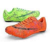 X/L Scarpe da Pista Spikes Sneakers da Corsa a Distanza da Donna da Uomo Scarpe da Corsa atletiche per Atletica Leggera…