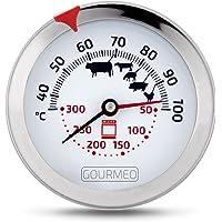 GOURMEO thermomètre à viande 2 en 1 premium (température de la viande et du four) en inox | thermomètre de cuisson…