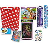 birthday popper magic combo pack with goody bag and thank you card (1 set) as birthday return gift for kids of all age group-
