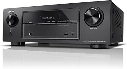 Denon AVR-X540BT 5.2-Kanal Full 4K Ultra HD AV-Receiver (130W pro Kanal, integrierter Bluetooth-Funktion, Amazon Music, HDR, Auto-Setup, Eco-Modus, Bluetooth Remote-App) schwarz