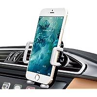 iAmotus® Support Voiture Rotation 360 Degrés Auto Universel Grille d'aération Support Téléphone Voiture Réglable pour iPhone 8 7 6s 6 Plus 5s, Samsung Galaxy S8 S7 S6 edge, Huawei, LG, GPS, Smartphone