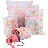 HOKIPO® Mesh Laundry Clothes Washing Bag, Pack of 5 (AR1368)