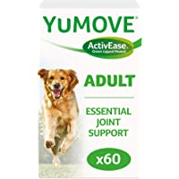 Lintbells | YuMOVE Adult Dog | Hip and Joint Supplement for Stiff Dogs Aged 6 to 8 | 60 Tablets