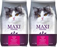 Maxi Persian Adult(+1 Year) Dry Cat Food, Ocean Fish, 1.2kg (Buy 1 GET 1 Free)