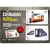 Bus Stop & Subway Entrances Model Making Kit by The CityBuilder 1:43 Scale (7mm) O Gauge