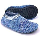 Dream Bridge Zapatillas de Estar por Casa para Niños Chicos Antideslizantes Calcetines Zapatos de Deporte con Suela de Goma