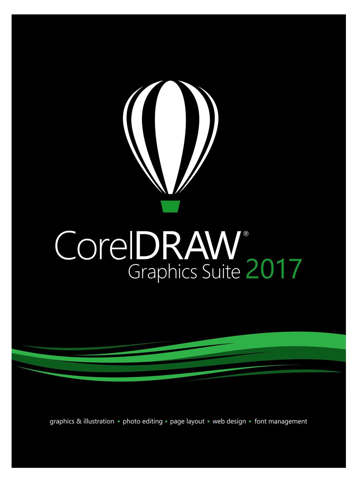 CorelDRAW Graphics Suite 2017 Upgrade [Download]