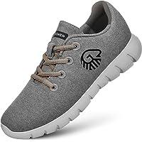 GIESSWEIN Merino Runners Women - Atmungsaktive Sneaker aus Merino Wool 3D Stretch, Leichte Damen Freizeit Schuhe mit…
