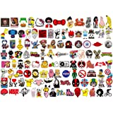 100 pcs Mixed Stickers for Luggage Laptop Decal Toys Bike Car Motorcycle Phone Snowboard Funny Doodle Cool DIY Sticker