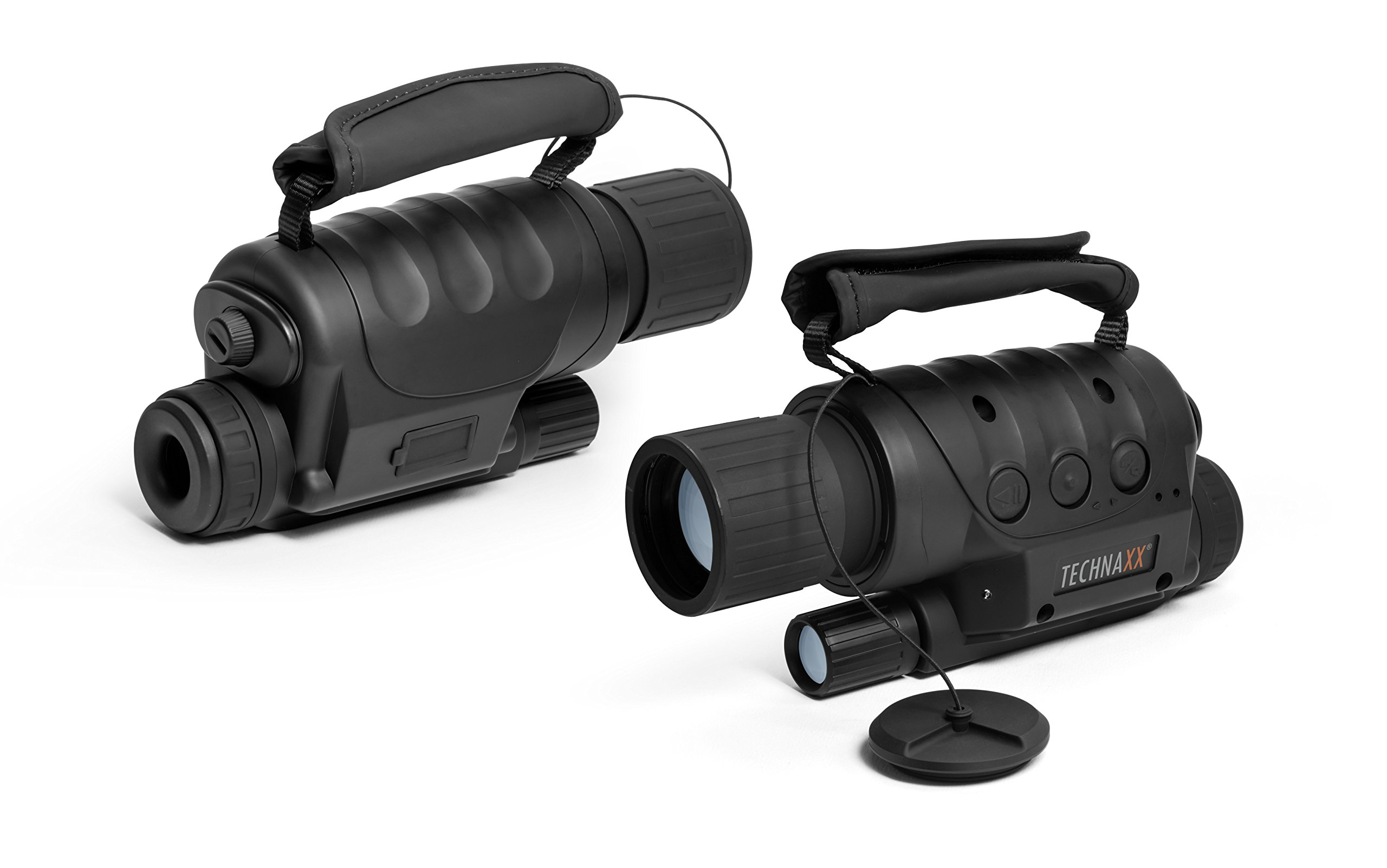 Technaxx 4560TX 73with Camera Function, Night Vision 4x Zoom, Black
