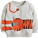 Reliaseren Bebé Niño Sudadera Niños Algodón Superior Puente Camiseta Linda De Manga Larga Niños Ropa De Niño Edad 1 2 3 4 5 6