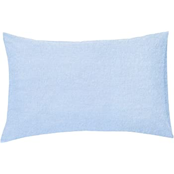 HOUSE WIFE PILLOWCASE PAIR SKY BLUE THERMAL FLANNELETTE 100/% BRUSHED COTTON SOFT