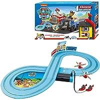Carrera FIRST PAW PATROL On the Track 2,4m Rennstrecken-Set | 2 ferngesteuerte Fahrzeuge mit Chase und Marshall | mit…