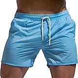 Tofern Beach Board Shorts Ajustable Cordón Hombres Natación Trunks Traje de Baño Traje de Baño Pantalones Cortos