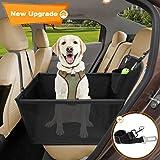 Wimypet Seggiolino Auto per Cani, Amaca Coprisedile Auto per Cani, Traspirante Seggiolino Auto Cane, Resistente e Facile da I