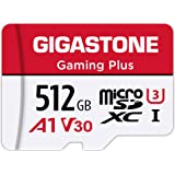 Gigastone 512GB Micro SD Card, Gaming Plus, Nintendo-Switch Compatible, High Speed 100MB/s, 4K Video Recording, Micro SDXC UH