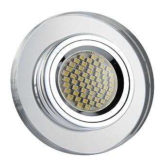 Großartig LED Einbaustrahler / Glas-Alu-Cristal / Spot / Einbauleuchte  UV12