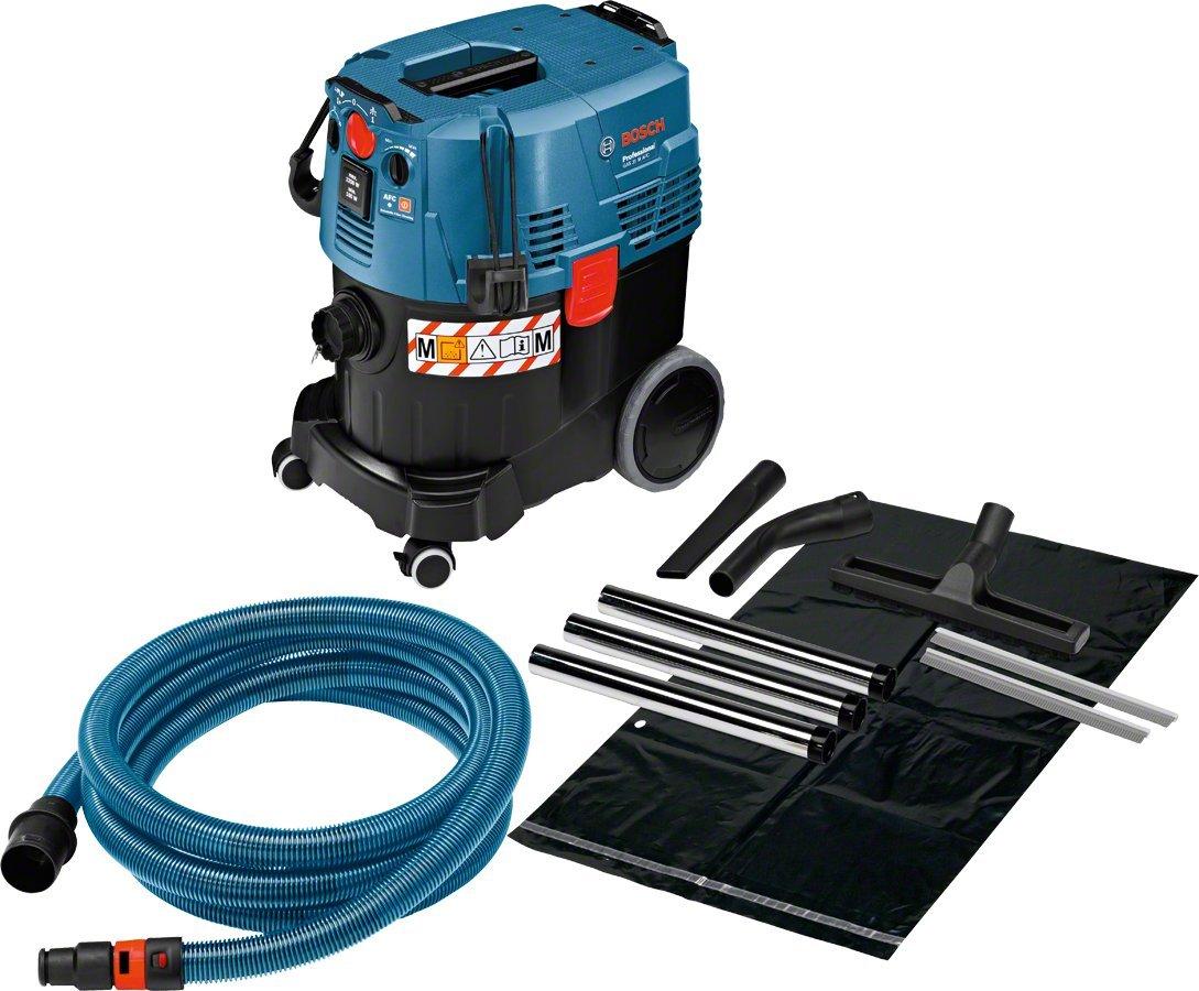 Bosch Professional GAS 35 M AFC Industriestaubsauger (1200 Watt, 35 L Behälter, 5 m Schlauch)