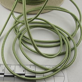 kawenSTOFFE Gummikordel Gummilitze elastische Kordel rot 2 mm