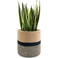 Goodpick Panier à plantes en corde de coton tissé