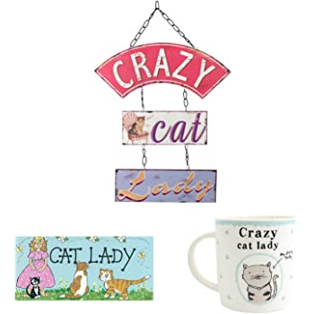 crazy cat lady items