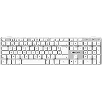 Kanex MultiSync Tastierino Numerico con Bluetooth, Compatibile con Diversi Dispositivi, Bianco