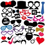 Syga 36Pcs/Set Photo Booth Party Props Craft Item
