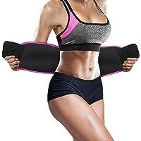 Weight Loss Hot Slimming Fat Burner Belt for Men, Women Belly Sweat Slim Belt Neoprene Fat Burning Sauna Waist Trainer…